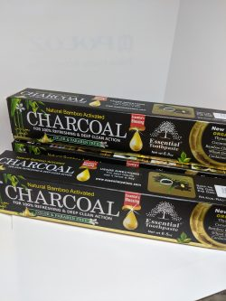 Bamboo Charcoal tooth paste.