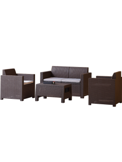 Garden Lounge Set manufacturer Inshare Furniture(Zhejiang) Co., Ltd