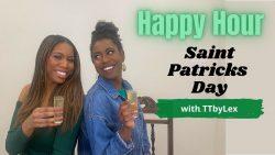 Saint Patricks Day Fashion and Cocktails