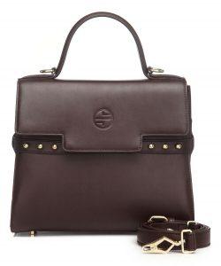 Women's Top Handle Leather Satchel