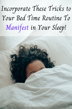 How to Manifest While You Sleep || How to manifest overnight