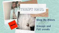 Thrift flip! selling all items in video on my depop