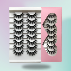Silk Lashes Booklet – 8 Pairs ON SALE NOW