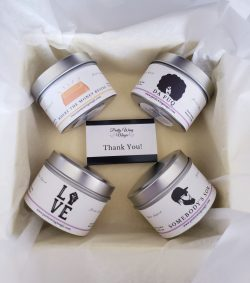Reiki & Herbal Infused For The Culture Candle Sample Set