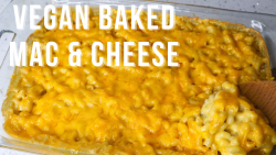 Vegan Baked Mac & Cheese