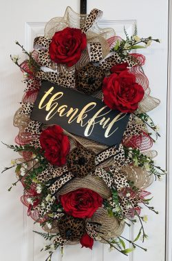 Custom Door Wreath
