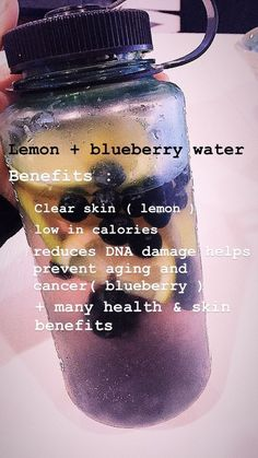 lemon water benefits 🍋💙