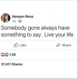 LIVE YOUR LIFE MAMAS