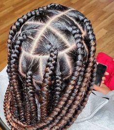 jumbo knotless braids