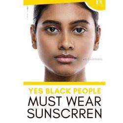 Should Black People Wear Sunscreen?