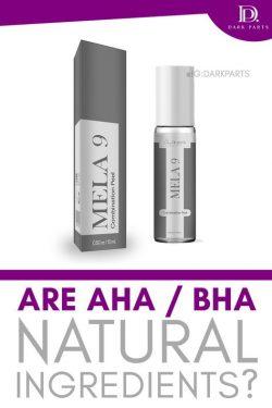 Mela9 Lactid Acid Hyperpigmentation Pigment Peel Kit | Dark Parts Active