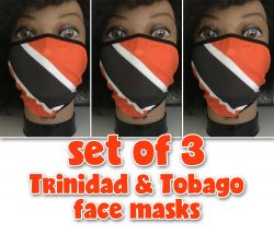 Trini face masks for Carnival and j'ouvert