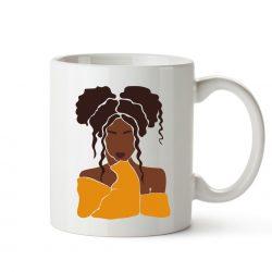 Messy buns mug