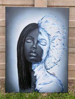 """""""Hydration"""" By artist @Dottie HD Collazo"""