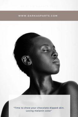 melanin skincare