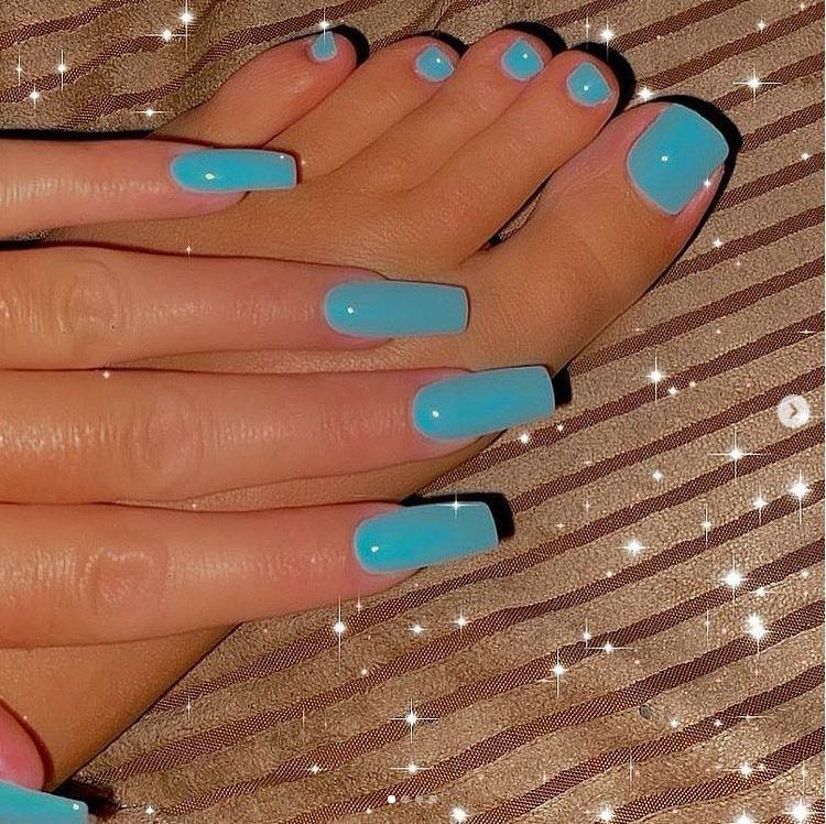 Sparkling Baby Blue