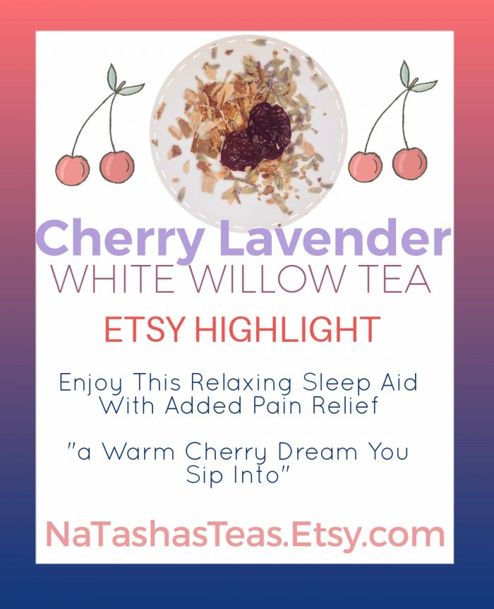 Visit NaTashasTeas.Etsy.com and select this Tasty Tea designed to relax and relieve pain
