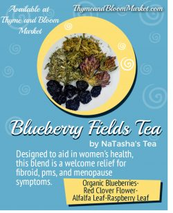 Blueberry fields Tea