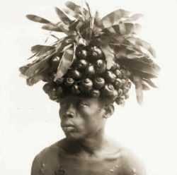 Portrait of a gentleman from the Bangba tribe, taken in Niangara, Belgian Congo, the modern-day  ...