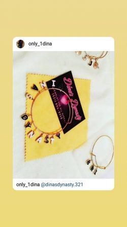 Custom charm bracelets.