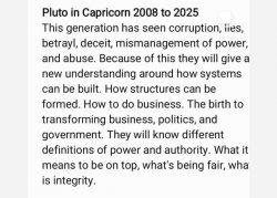 Pluto generation