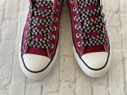 Checker Board shoelaces for sneakers