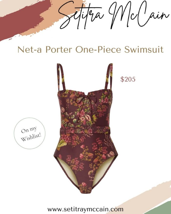 Floral One-Piece Swimsuit | Shop the Look