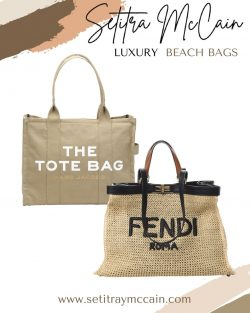 Luxury Beach Tote Bags