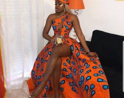 Queen: Ankara Dress