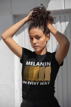 Melanin Stripes unisex, soft tees