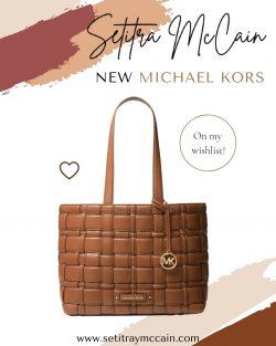 Brown Michael Kors Handbag