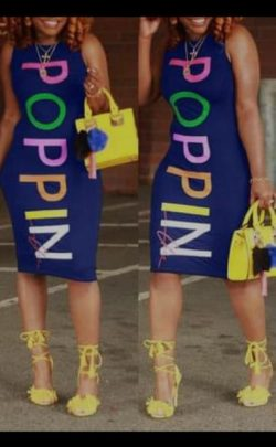 Poppin Dress