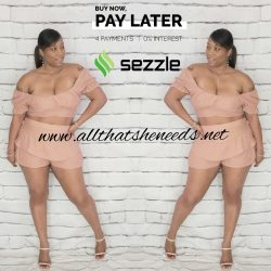 2 Piece Spicy Short Set