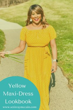 Yellow Maxi-Dress Lookbook | Summer Styles 2021
