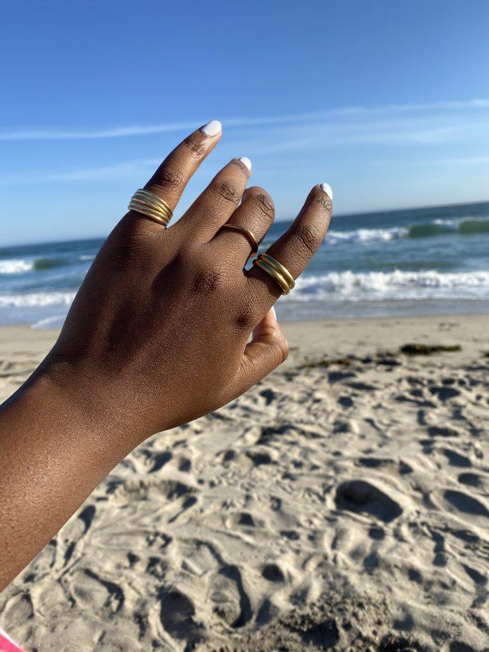 Minimalist Gold Rings
