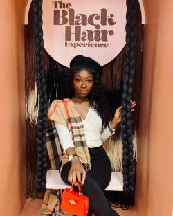 Black Hair Pop Up Selfie Museum