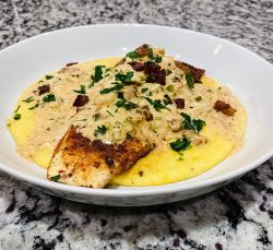 Fish and Grits.