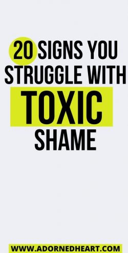 Toxic Shame Recovery Tips