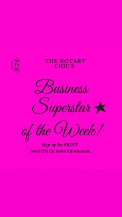 Business Superstar of the week