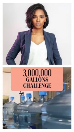 Paulla McCarthy CEO/Founder of Yss Water Works, she's the First Black Woman in NY to own & r ...