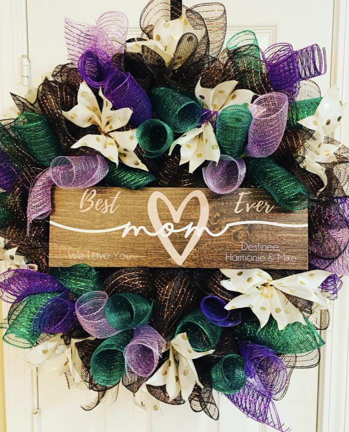 Mother's Day Door Wreath