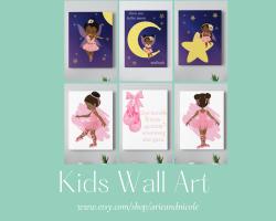 Girls Wall Art