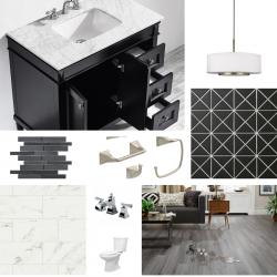 Contemporary Bathroom Design with a Classic Feel