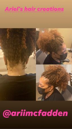 Crochet braids with Marley braid passion twist hair