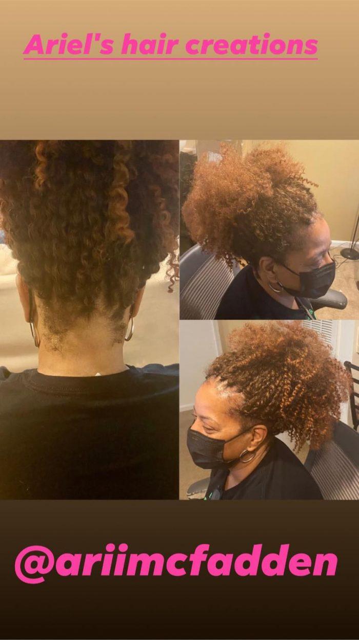 Crochet braids with Marley braid passion twist hair