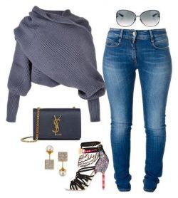 Wrap sweater