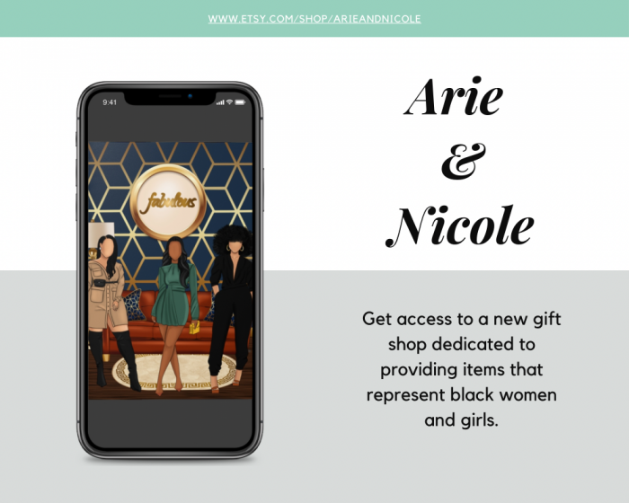 Check out Arie and Nicole's gift shop