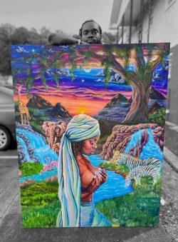 Eve's Garden Artist ~ Reggie Griffin