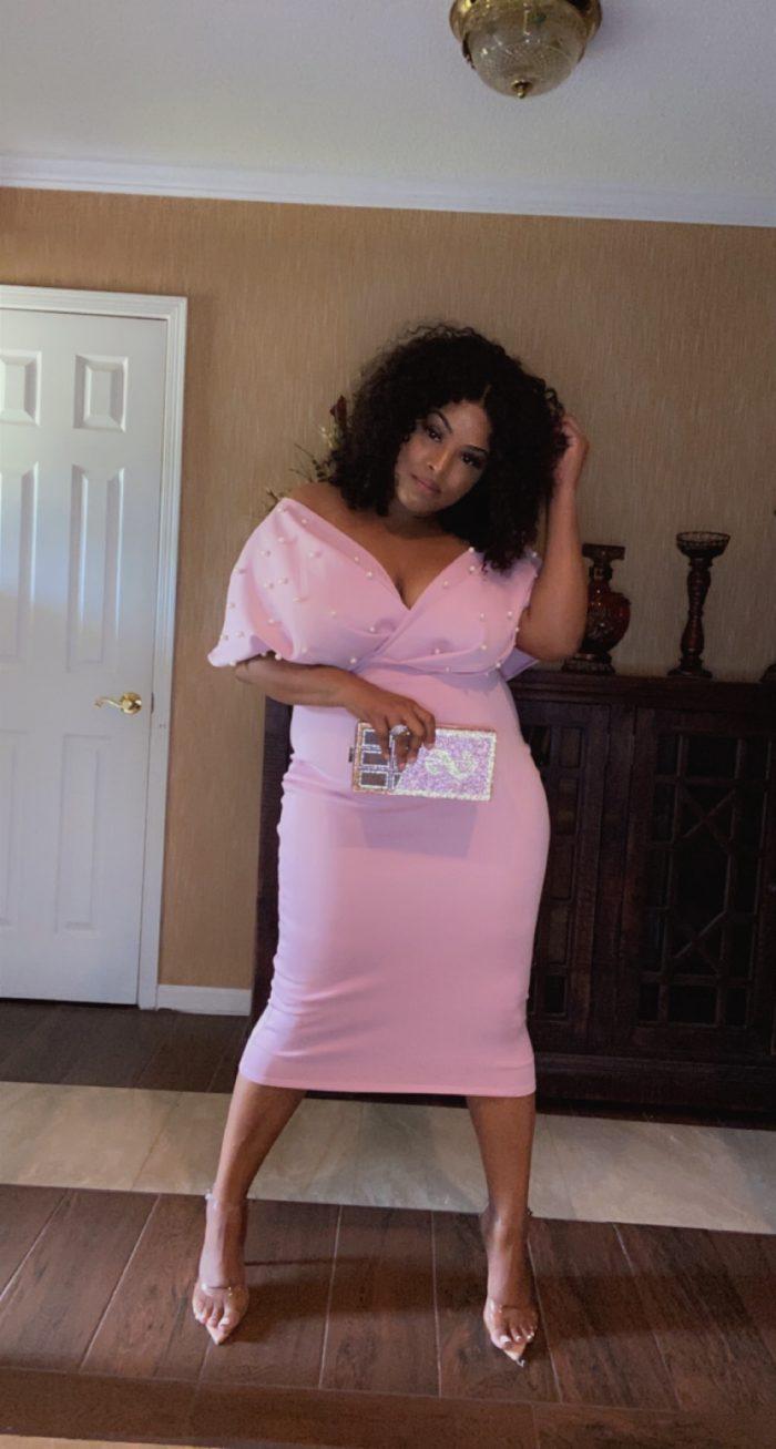 Stallunique Queen Kay Bodycon Dress