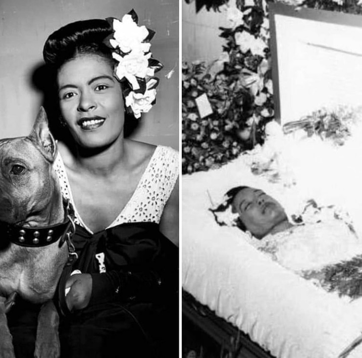 The Legend: Ms. Billie Holiday Billy Holiday was handcuffed to her bed while lying there dying.  ...